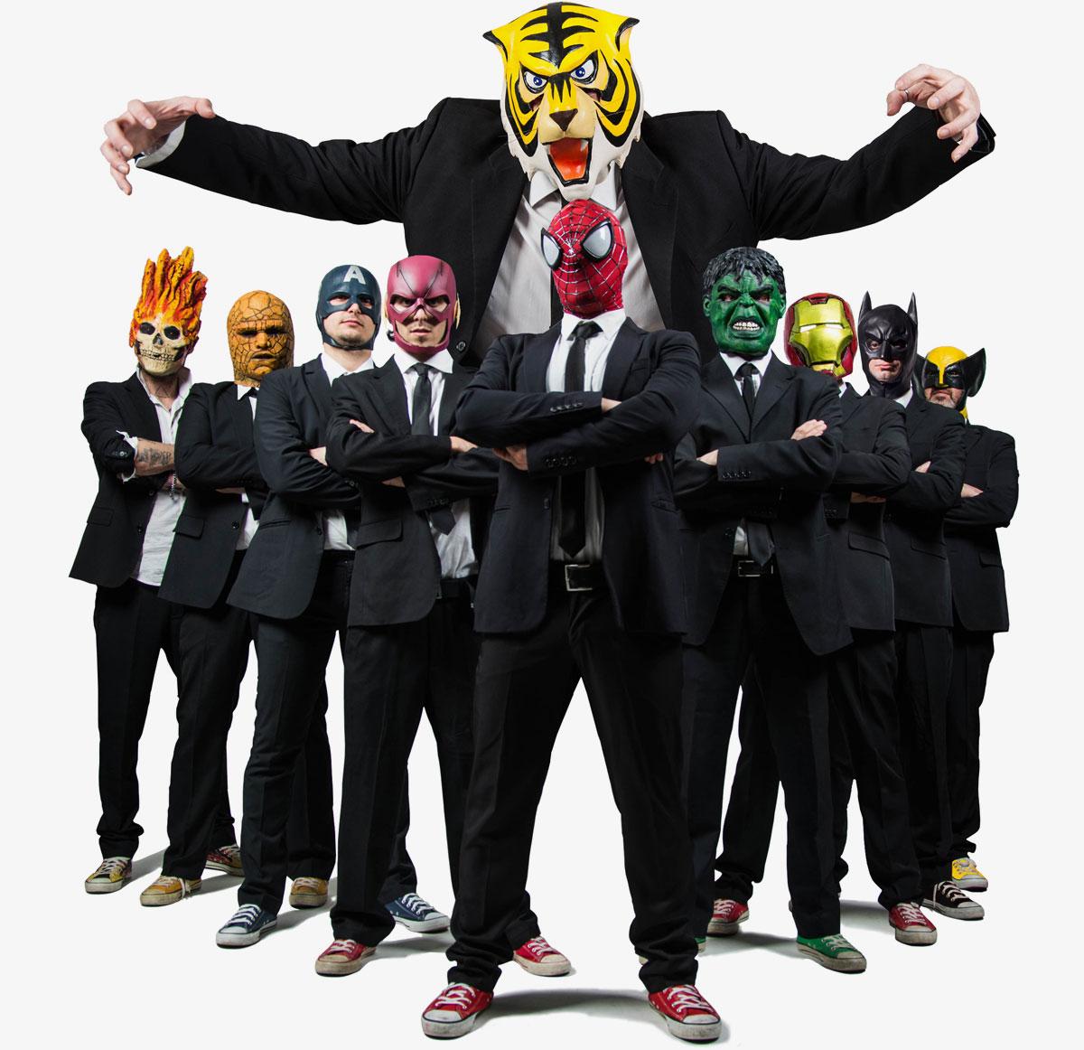 Cartoon Cover Band Italia